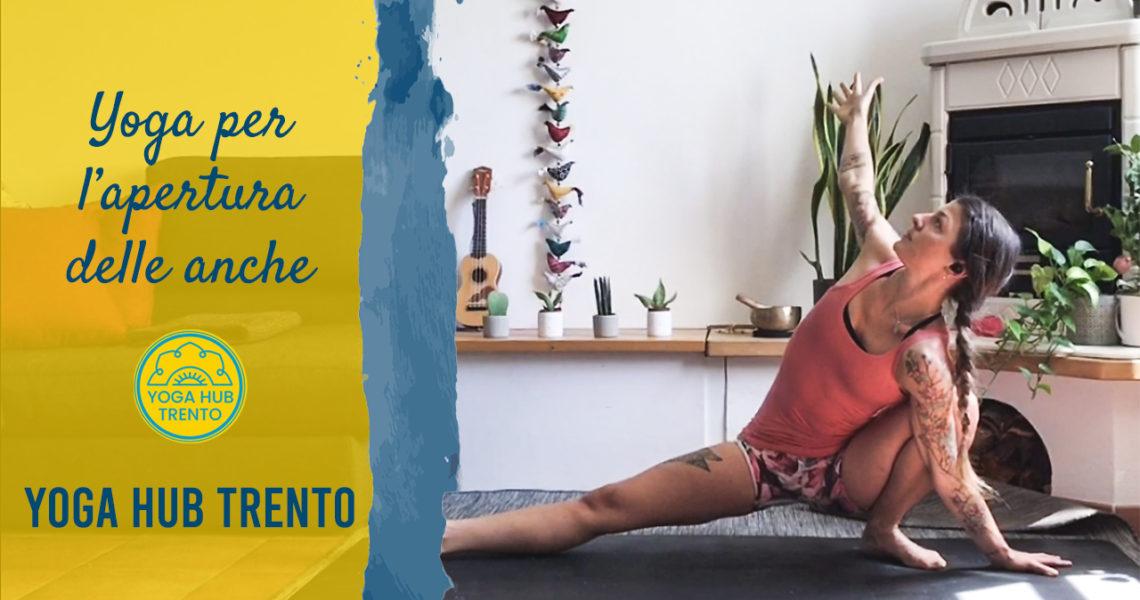 Yoga per l'apertura delle anche